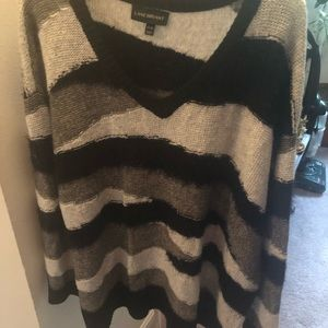 Black, Grey & Taupe with a bit of Glitter Sweater